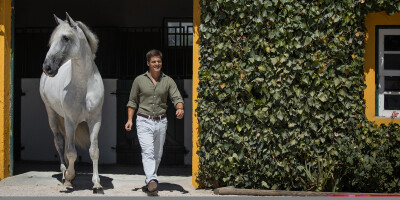 Vasco Mira Godinho a caminho de sua casa