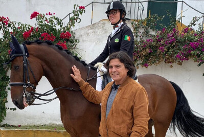 Luís Represas junta-se à causa da Paradressage