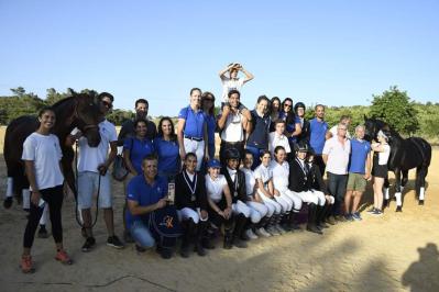 Resultados do Campeonato Regional de Dressage do Algarve
