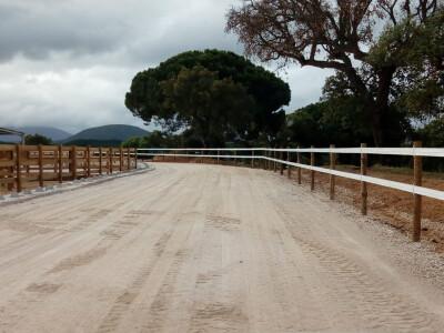 Novas vedações Horserail em Sines e Alenquer