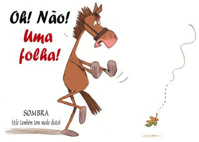 O seu cavalo tem medo de tudo (e mais alguma coisa)?