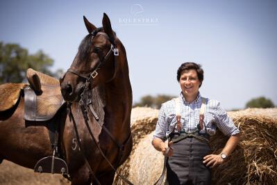 António Maria Brito Paes é capa da Revista Equitação
