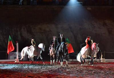 Espectáculos e competições equestres animaram Albufeira