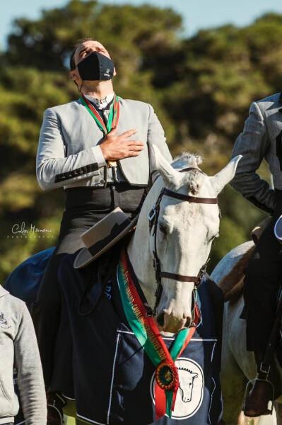 Gilberto Filipe Tri-Campeão com Zinque das Lezírias