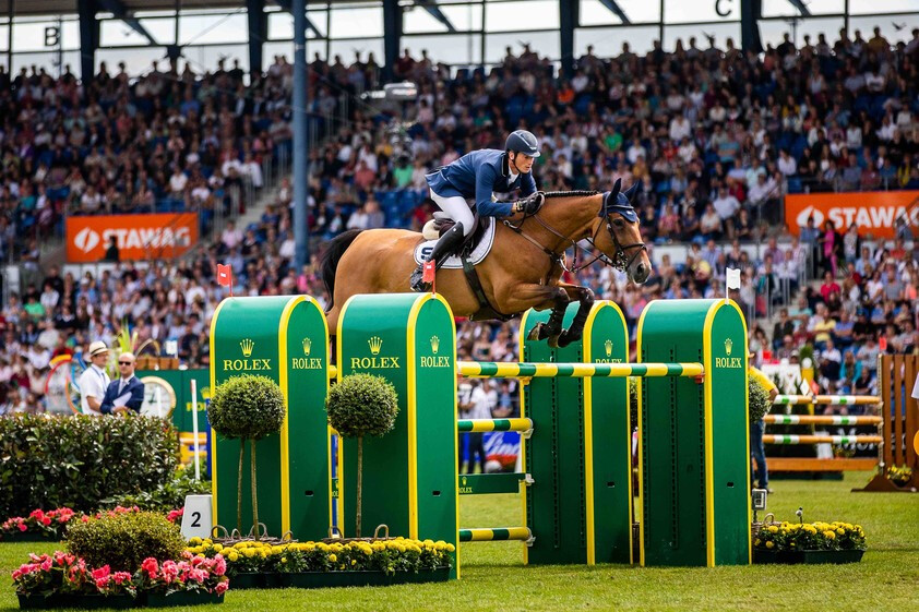 Daniel Deusser e Killer Queen VDM (Foto de Rolex Grand Slam_ Ashley Neuhof)