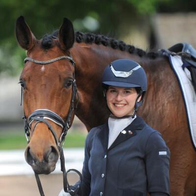 Ana Teresa Pires no Mundial de Cavalos Novos