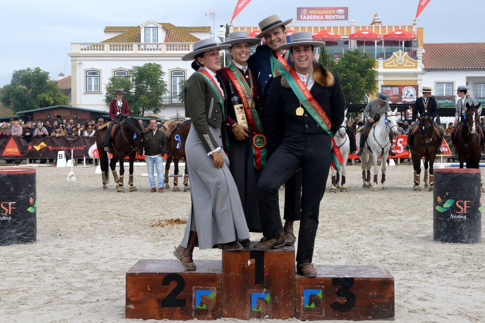 Campeões de Equitação de Trabalho