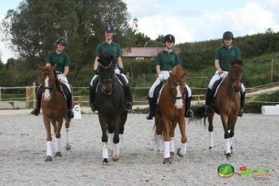 Cavalos e atletas animam Hospital de Sant'Ana