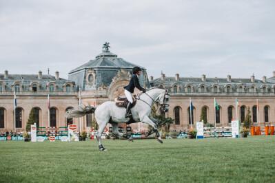 Chantilly é o primeiro grande evento equestre pós-Covid