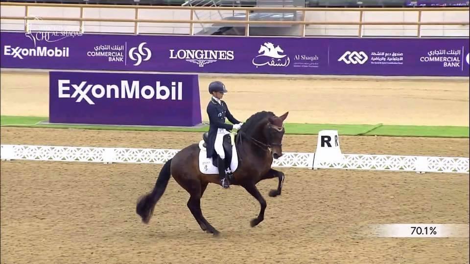Maria Caetano e Fenix Doha