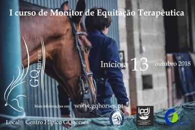 Curso de monitor de equitação terapêutica