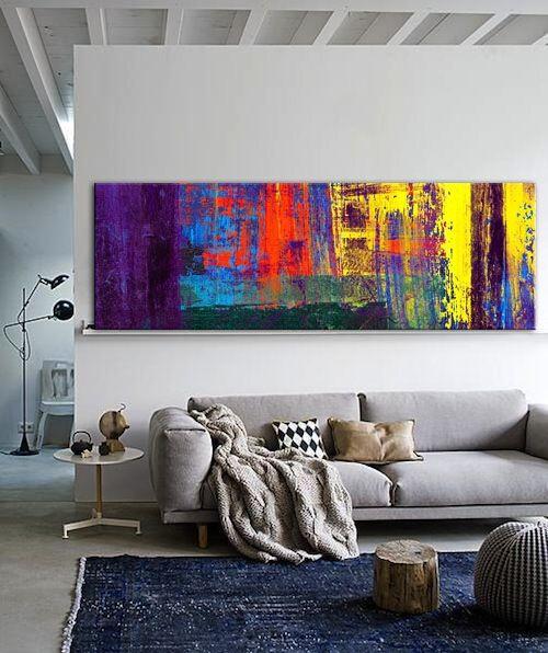 quadros-coloridos-em-fundo-branco-design-de-interiores-em-2019