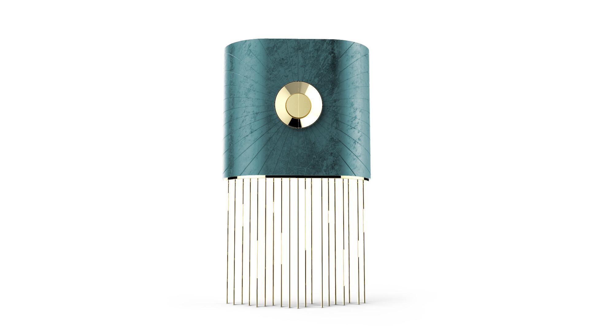 AMATERASU Cabinet MainView Turquoise - ALMA de LUCE
