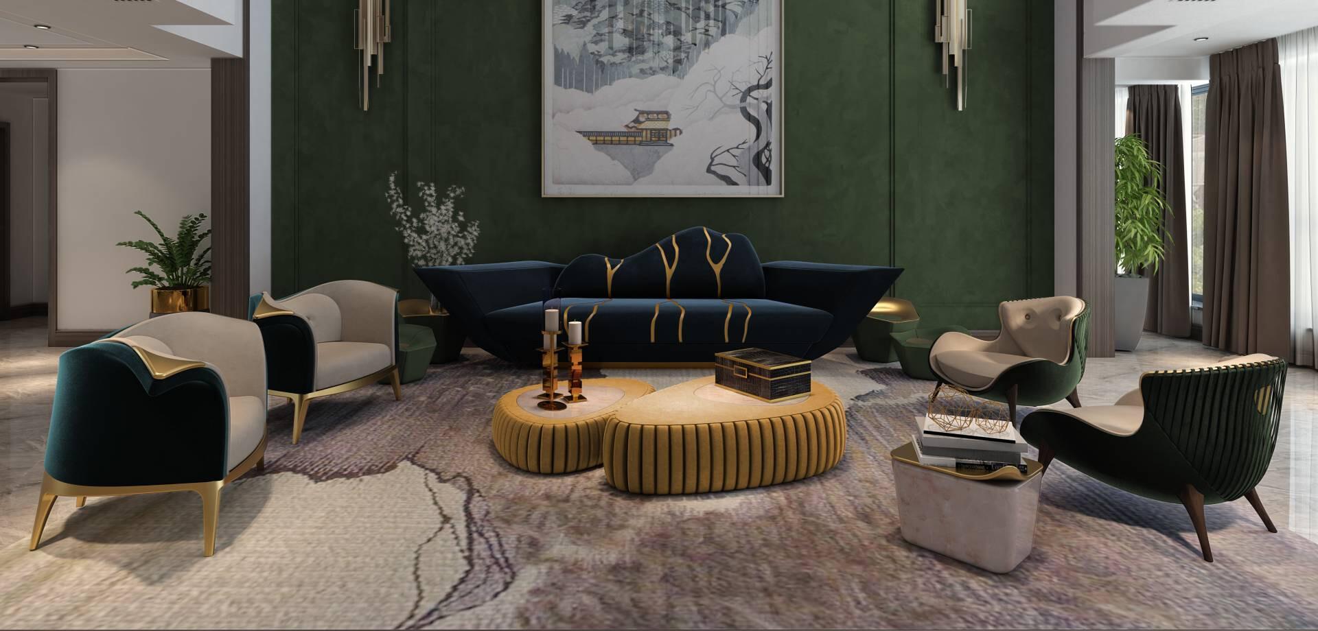 Luxury Interior Design - ALMA de LUCE Project in Berlim