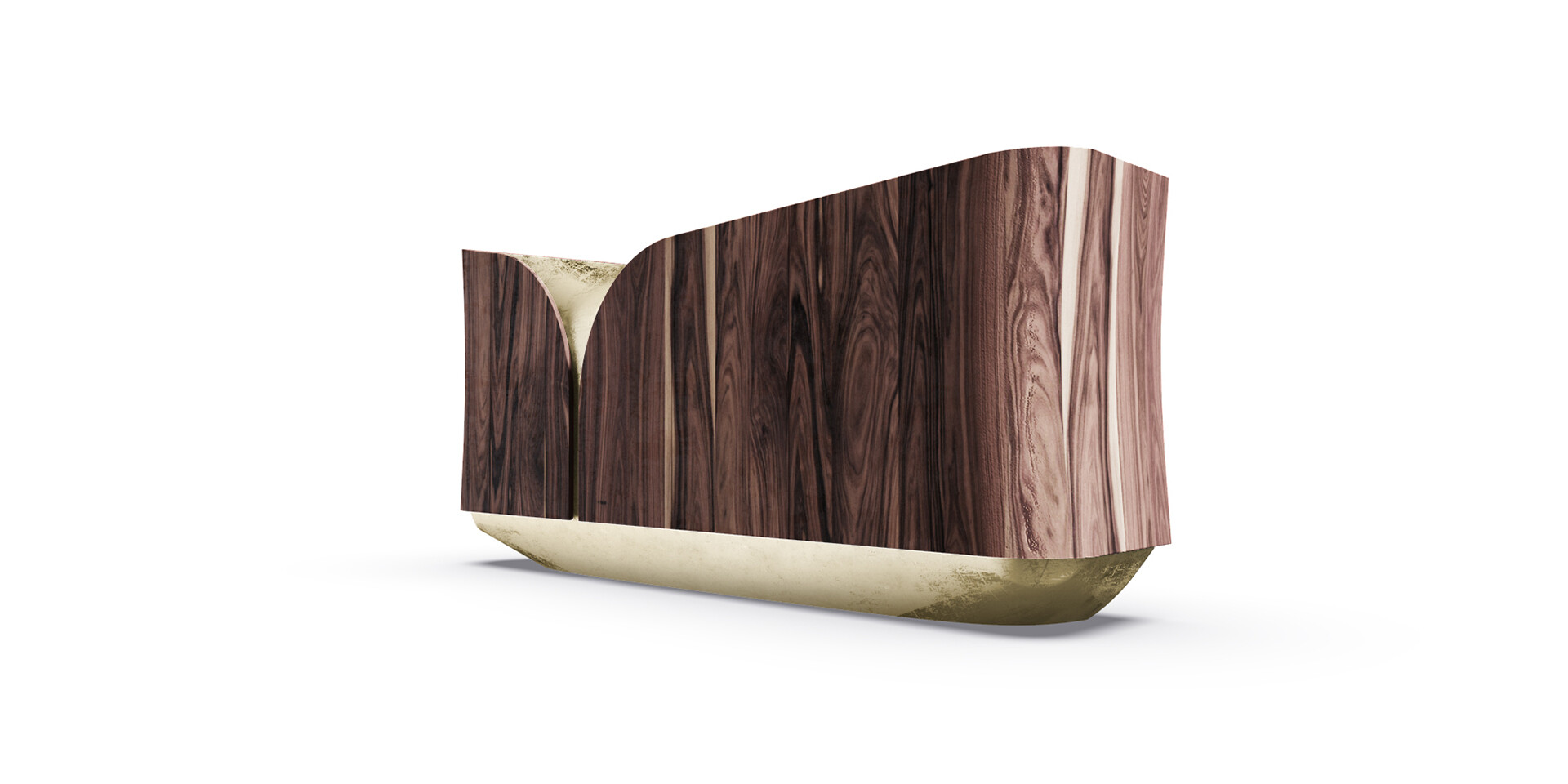 FIREFALL SIDEBOARD side low view ALMA de LUCE