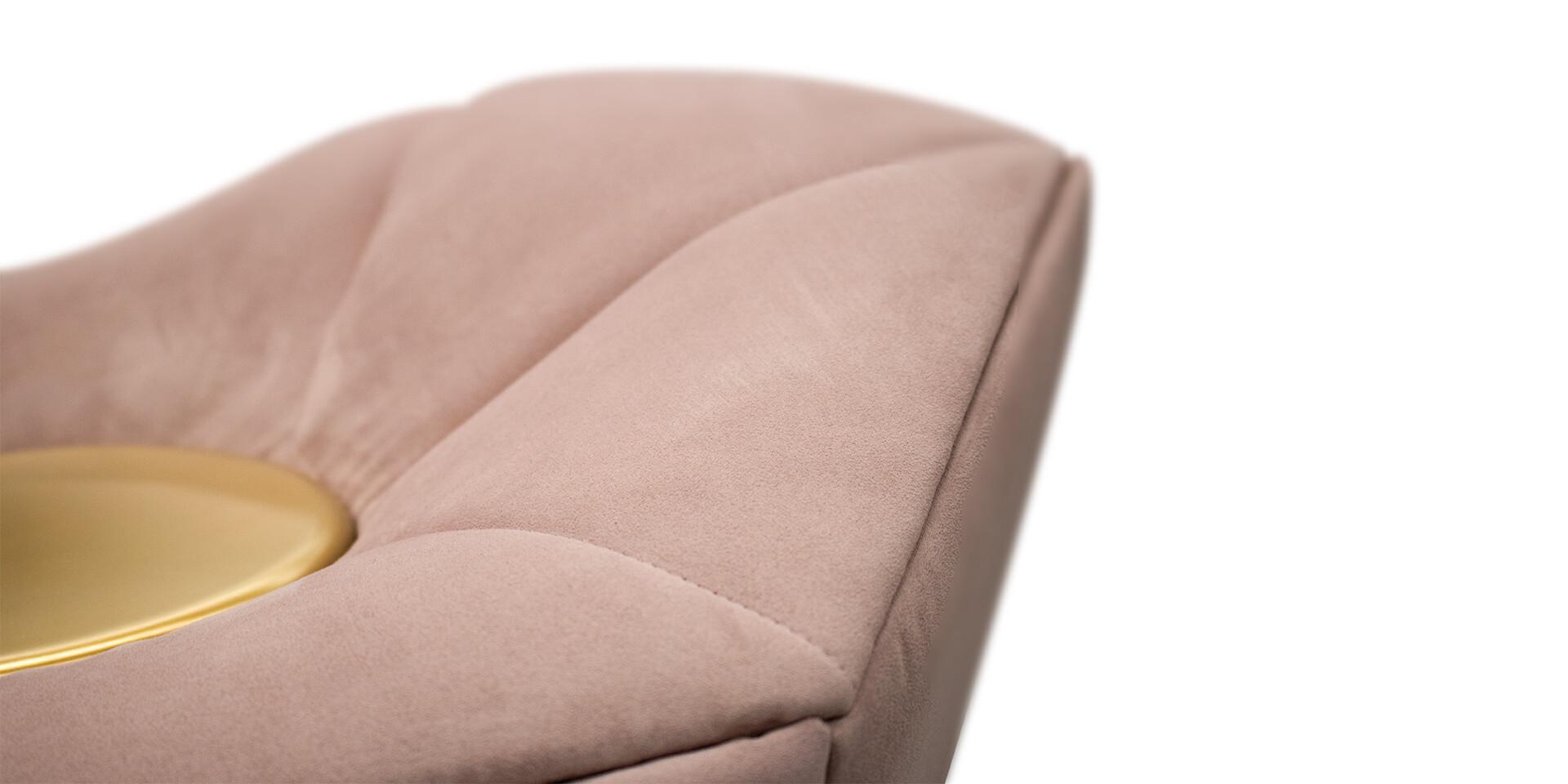 MCCOOL SIDE TABLE - Detail Side View - ALMA de LUCE