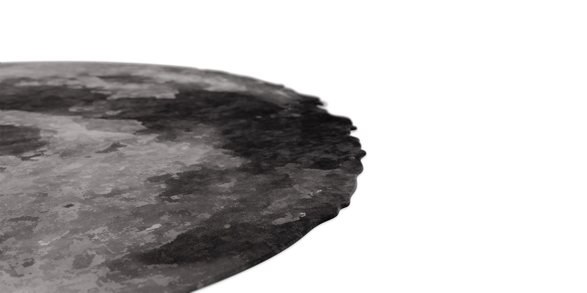 MOON RUG - Detail View - ALMA de LUCE