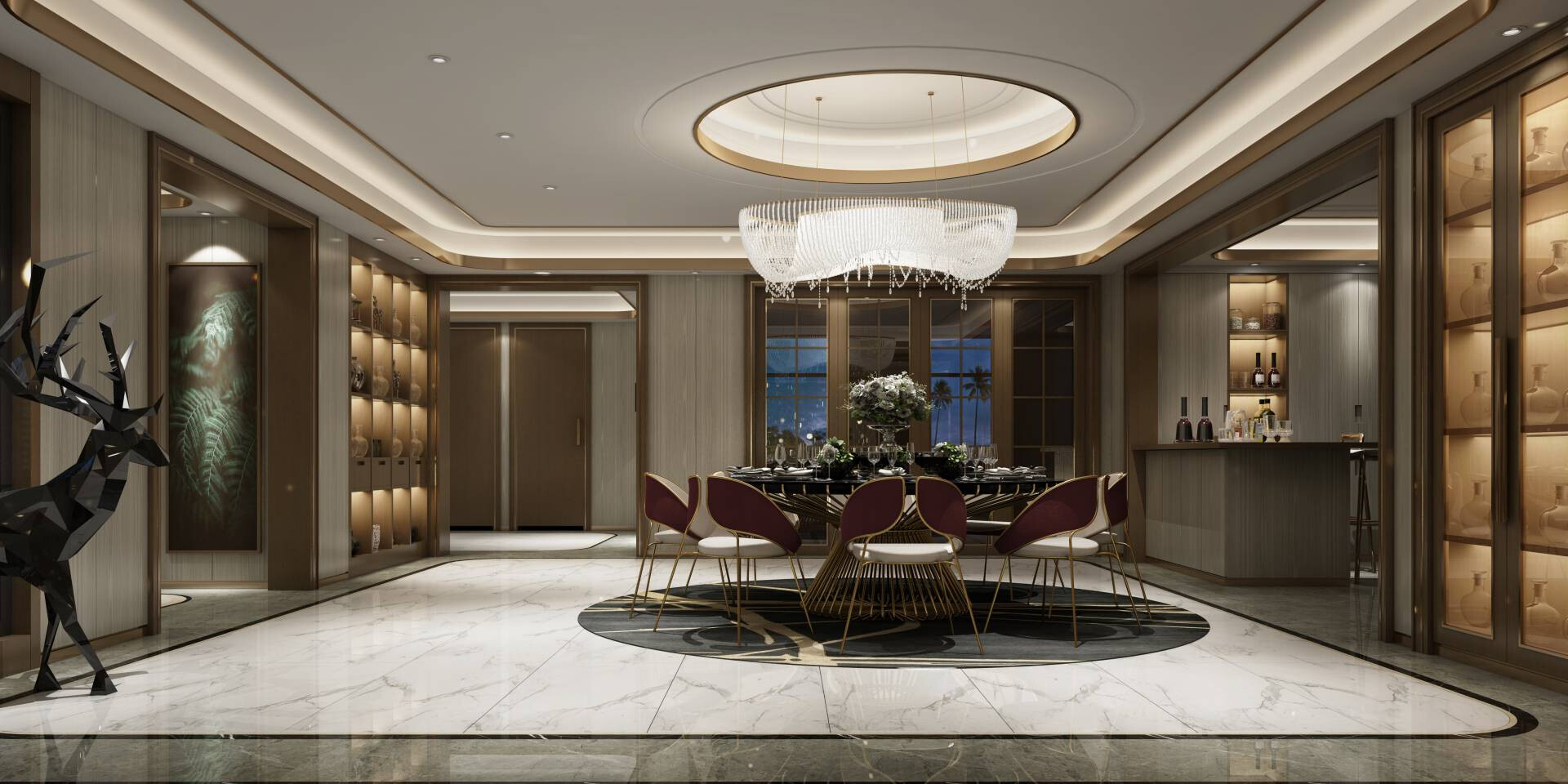 Luxury Interior Design - ALMA de LUCE Project in Monaco