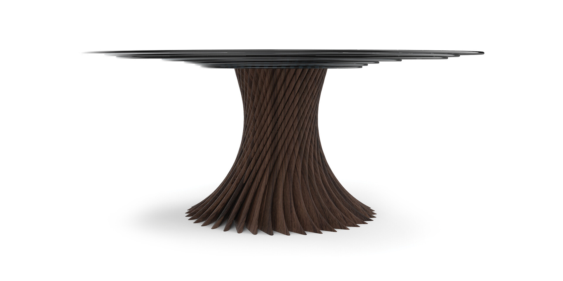 NARUTO Dining Table FrontView- ALMA de LUCE